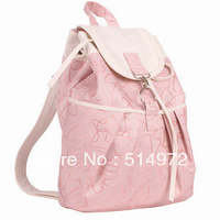 Best Selling!!2013 new stylish ladies canvas backpack women travel bags female casual print backpack Free Shipping