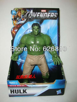 Wholesale/Retail Free Shipping  Marvel The Avengers Heros INCREDIBLE HULK 8 Inch 20CM Action Figure Hot