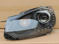 Black Golf MKVI R line bi-xenon headlamp with LED