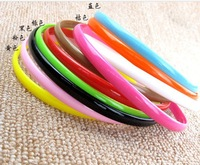 2013 NEW Wholesale nice quality headwear multi Candy colors 8mm Plastics Hairbands