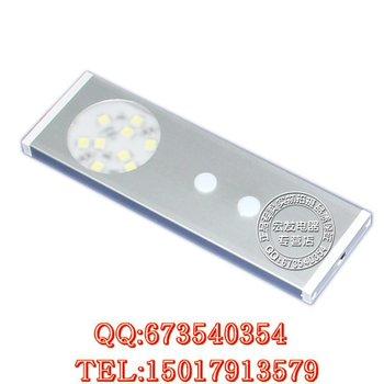 Infrared sensor led kitchen cabinet lamp ultra-thin wardrobe lights rectangle bookcase lalan lamp decoration lamp