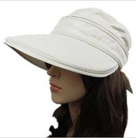 FREE Outdoor sun hat Fashion New Women's sun hat Dual UV empty top hat Cycling hat cap