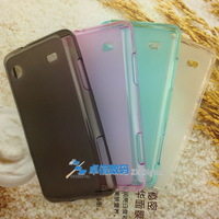 Free Shipping TPU Matte soft case for Samsung I8258 cell phone cover