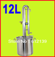 New arrival 12L Alcohol Wine Distiller Whisky Vodka Maker Home Brew liquor Distiller