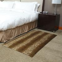 The face fashion leopard print carpet coffee table