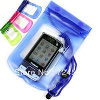 Freeshipping- 10pcs/lot Mobile phone waterproof camera bag waterproof bag waterproof bag waterproof bag