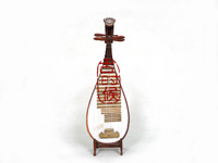 Unique classical pipa antique model mini pipa musical instrument birthday gift antique gift
