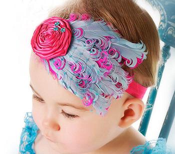 Free shipping New Kid's Flower Headwear