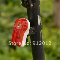 Free shipping Cycling Bike Bicycle Rear Light Bright 3 Red LED Safety Taillight Lamp 2 Modes