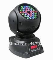 1pcs free shipping to USA/CANADA/MEXICO effect stage light 36x3W RGB LED Moving Head Lights 36PCS high power 3W LED DJ Lighting