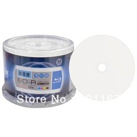 Free shipping,TAIWAN TOP ,50 Pieces,Ritek BD-R Blank Disk,4-10x Speed  Printable 25 GB Blank Blu-ray Disc