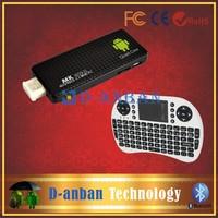 RII I8 keyboard and Andriod 4.2 RAM 2GB ROM 8GB Quad-core RK3188 Bluetooth Wifi TV Box Free shipping