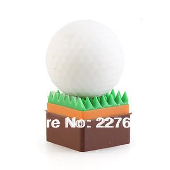Golf Ball USB Flash Drive 8GB 16GB 32GB 64GB 64GB 100% full capacity pen drive