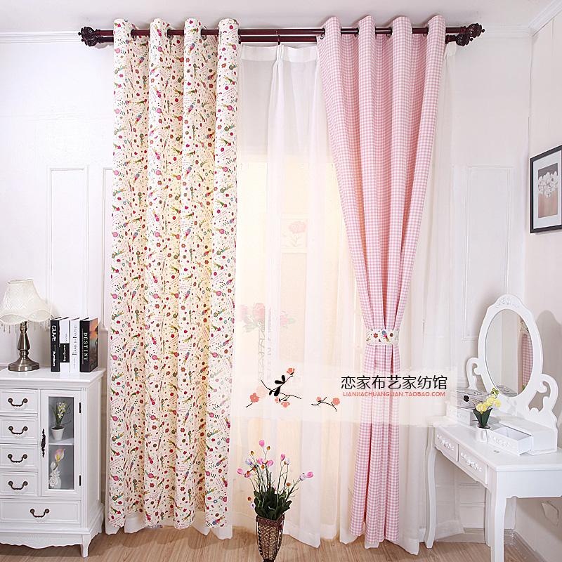 online kaufen gro handel kids pink curtains aus china kids. Black Bedroom Furniture Sets. Home Design Ideas