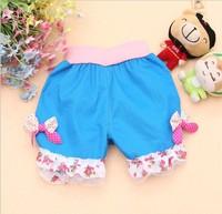 Free shipping! 2013 summer children shorts girl children's pants