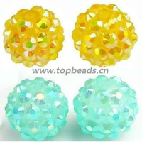 Shamballa Beads, Hot Sales, Acrylic,12mm,Sold by pc