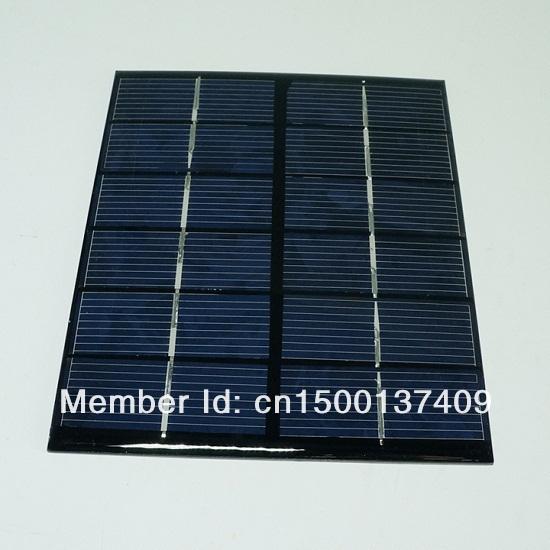 Wholesale! 30pcs/lot Mini Solar panel Solar cell DIY Solar System 2W 6V Polycrystalline Solar Module 136 * 110 Free Shipping(China (Mainland))