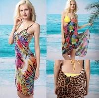 Free Shipping  Woman Magic Beach Towel Dress Lady Sexy Vacational Beach Cover-Ups  Beach Scarfs Wholesale/Retail MG-076
