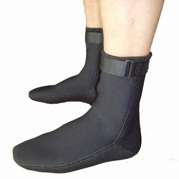 Blue Ocean / Dive & Sail Slip-resistant submersible thicken neoprene socks swimming socks push-up velcro belt