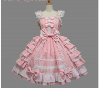 Barbie Japan palace snow spinning lace bowknot cosplay lolita dress