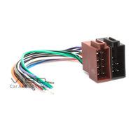 12-002 Universal Female ISO Radio Wire Wiring Harness Adapter Connector Car Adaptor Plug Headunit Stereo Free Shipping Worldwide