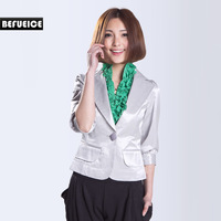 Befueice formal ol slim three quarter sleeve small suit jacket - w1108