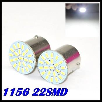 New External Lights 10pcs/lot ,car Led Lamp 1156 Ba15s 22 Leds 22smd Light 3020/1206 Smd Turn Signal Reverse led brake Light