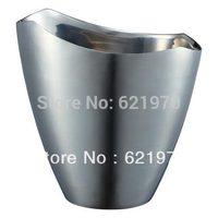 3.5L, 2 bottles of  Stainless steel 18/8 ( 304) ice bcuket , cooler, food grade