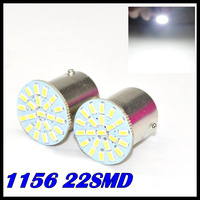 100pcs/lot ,car Led Lamp 1156 Ba15s 22 Leds 22smd Light 3020/1206 Smd Turn Signal Reverse led brake Light