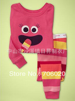 6sets/lot baby wear set 100% cotton baby long sleeve pajamas boy's and girl's underwear clothing sets kids clear suits sets A003