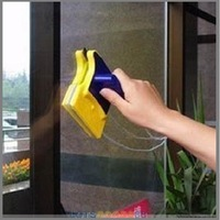LS4G 2014 New Useful Magnetic Window Cleaner Double Side Glass Wiper Useful Surface Brush