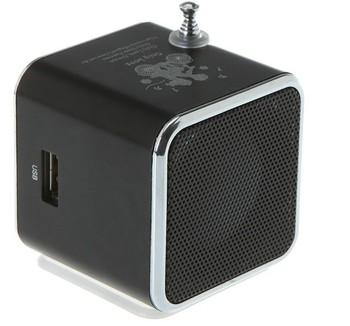 Portable Mini Speaker Micro SD TF Card USB Disk MP3 Music Player Amplifier FM Radio Sound Box Free Ship