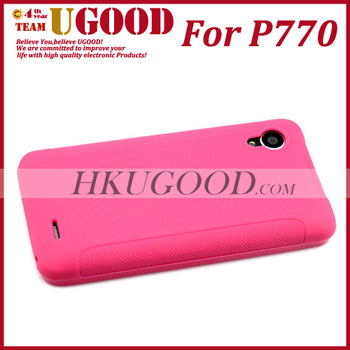 Hot Selling High Quality Lenovo P770 Silicon Case Black Cover 100% Match Lenovo P770 Mobile phone In stock