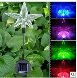 "NEW 2pcs/ 30""/75cm Outdoor Garden Solar Post Deck Cap Square Fence LED Light For Holiday Free Shipping(China (Mainland))"