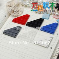 Free shipping DIY building block parts 300pcs/lot color assorted blocks