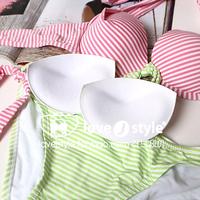Bikini insert cutie thin thick dumpling pad thick round pad