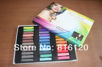 FREE SHIPPING+Good quality Temporary Color Hair Chalk 36 colors Salon Kit  36 pcs/Set Wholsale/retail