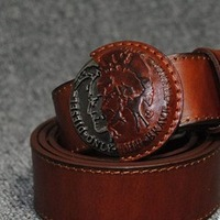 Genuine leather Fashion belt The new 2013 leather belt, upper. Men essentia,100% true. ring