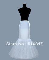 2013 Hot sale New Fashion Mermaid/Trumpet White/Ivory Petticoat Free shipping