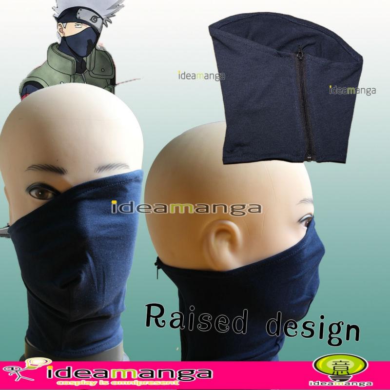 Kakashi Mask Tutorial Hatake Kakashi Veil Mask