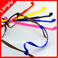 2013 I-bright Glasses accessories super soft elastic silica gel glasses lanyard chain slip-resistant glasses rope 50pcs/lot