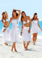 2013 latest design multi-wear lady sexy beach wear with 90%Polyester 10%spandex material for 11colors free shipping vs brand