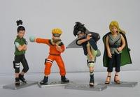 New Japan Anime Naruto action figure 4pcs G6