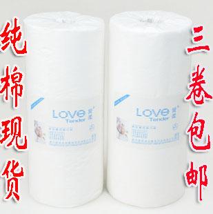 Rgxzr 100% algodão de alta qualidade faixa plana de limpeza toalha descartável beleza toalha de algodão bloco de papel do tambor(China (Mainland))