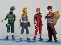 New Japan Anime Naruto action figure 4pcs G31