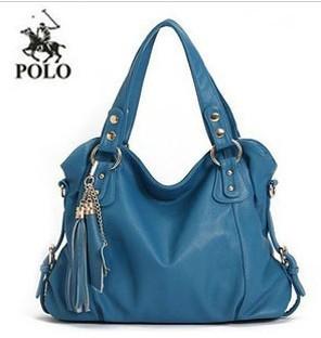 2015 New Geniune Leather Handbag Fashion Tassel Shoulder Tote Handbags of Famous Women Sheepskin Bag