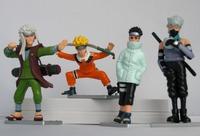 New Japan Anime Naruto action figure 4pcs G7