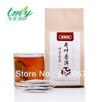 wholesale premium lotus leaf tea Pu'er tea natural wild flowers belly slimming tea 160g C0110 freeshipping