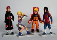 New Japan Anime Naruto action figure 4pcs G22