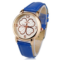YJS10001 Watch Promotions Exquisite Hollow Dial Leather Fashion Ladies Quartz Watches Sports Watches Women Gift